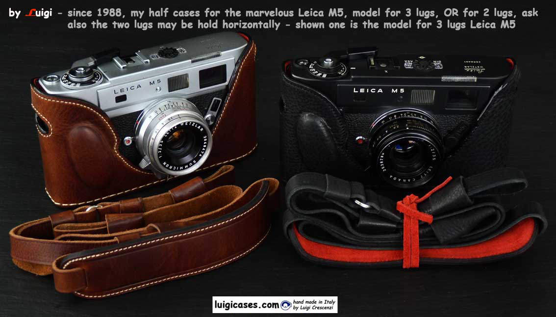 Cases for Leica M